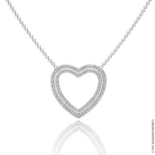 Kristine Heart Necklace