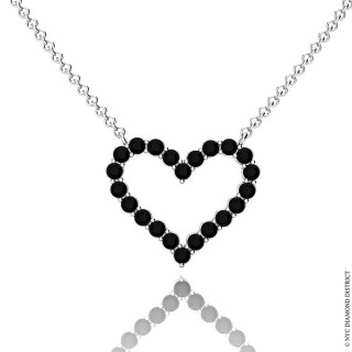 Nicole Heart Necklace