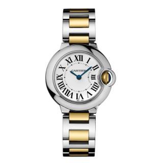 Cartier Watches - Ballon Bleu 28mm - Steel and Yellow Gold