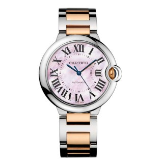Cartier Watches - Ballon Bleu 36mm - Steel and Pink Gold