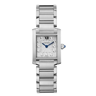 Cartier Watches - Tank Francaise Medium - Stainless Steel