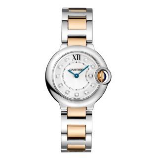 Cartier Watches - Ballon Bleu 38mm - Steel and Pink Gold