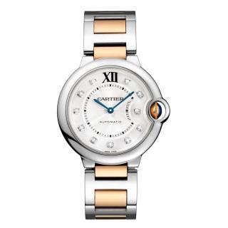 Cartier Watches - Ballon Bleu 36mm - Steel and Pink Gold