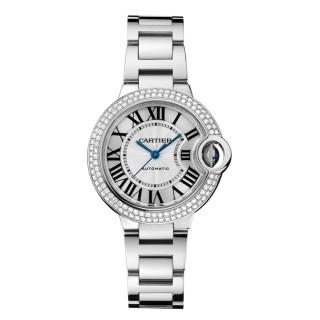 Cartier Watches - Ballon Bleu 33mm - White Gold