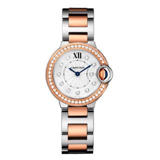 Cartier Watches - Ballon Bleu 28mm - Steel and Pink Gold