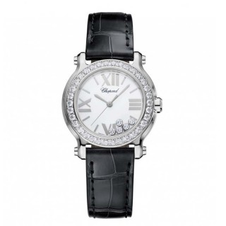 Chopard Watches - Happy Sport Round Mini Stainless Steel