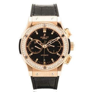 Hublot Watches - Classic Fusion 45mm Chronograph - King Gold