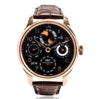 IWC Watches - Portuguese Perpetual Calendar - Red gold