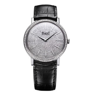 Piaget Watches - Altiplano Ultra-Thin - Mechanical - 38 mm - White Gold